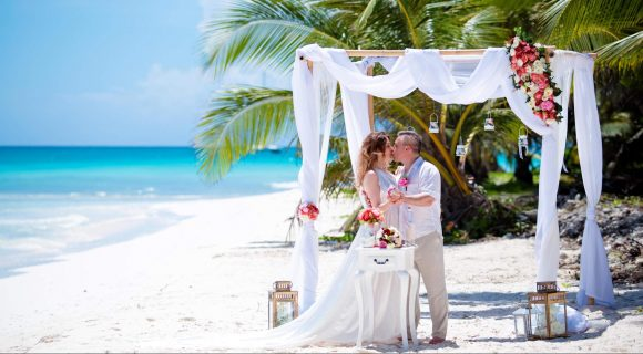 Свадебная церемония на острове Саона
