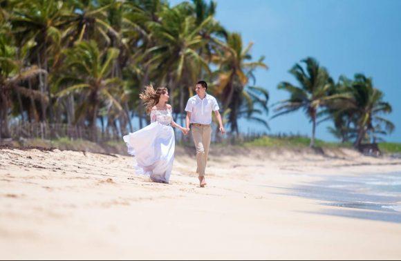 Свадебная церемония на пляже Макао