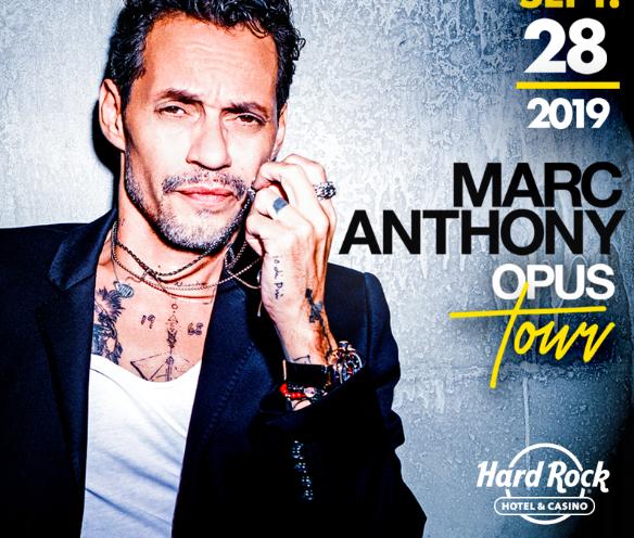 Концерт Марка Энтони в отеле Hard Rock Hotel & Casino Punta Cana